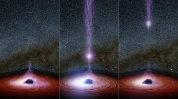 Anatomy of a Black Hole Flare