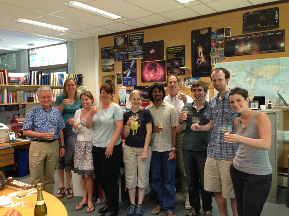 Happy 2nd Birthday from Institute of Astronomy Cambridge UK