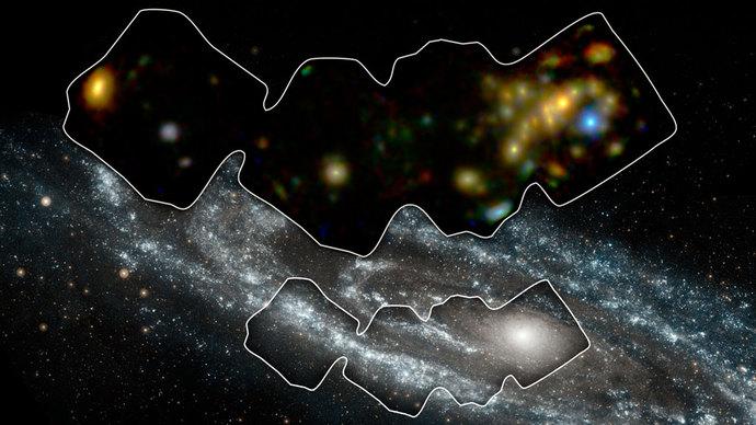 Røntgen stråling i Andromeda galaksen